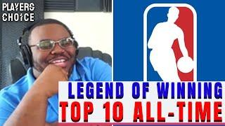 Legend of Winning's Top 10 NBA Players of All-Time   Players Choice Clips