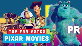 Top 5 Fan Voted Pixar Movies - Power Ranking
