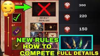 RAMPAGE EVENT NEW UPDATE  RULES CHANGE RAMPAGE EVENT TOP 100 M10 FREE FIRE NEW EVENT HOW TO COMPLETE