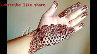 Top10simple mehndi Design new Eid collections  Backhand 2020 | Front or back hand Most mehndi design