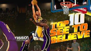 10 CRAZY Plays You Have To See To Believe - NBA 2K21 TOP 10 Plays Of The Week #5