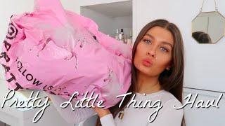 PRETTY LITTLE THING LOUNGEWEAR HAUL | Amy-Beth