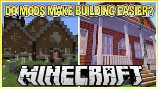 Do Mods Make Building Easier in Minecraft?