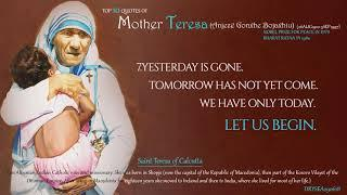 Top 10 quotes of MOTHER TERESA