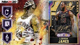 GOAT GALAXY OPAL POINT GUARD LEBRON JAMES GAMEPLAY! MY NEW FAVORITE PG IN NBA 2K20 MYTEAM!