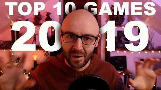 My top 10 games I've played in 2019