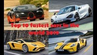 Top 10 Street Cars with the Highest Top Speeds