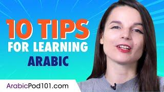 Top 10 Tips for Learning Arabic