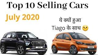 Top 10 Selling Cars of July 2020 in India