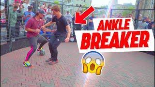 SEAN GARNIER at the WORLD CHAMPIONSHIP PANNA ! Ankle breaker , crazy skills