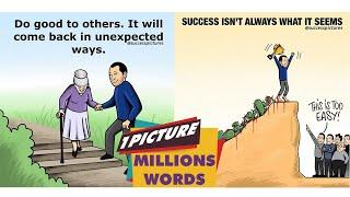 Top 10 Motivational Pictures With Deep Meaning  One Picture Millions of Words Today's Sad Reality WT