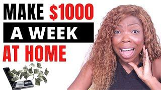 10 TOP Ways To Make $1000/ WEEK From Home | WORK FROM HOME JOBS | QUARANTINE 2020