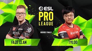 CS:GO - FaZe Clan vs. TYLOO [Mirage] Map 3 - Group A - ESL Pro League Season 10 Finals