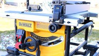 Dewalt Table Saw Review. Looking at the new updated Compact Dewalt DWE7485 Table Saw