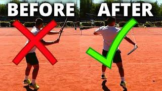 Play Consistent Tennis In 10 Minutes - Instant Tennis Improvements