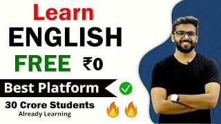 LEARN ENGLISH FOR FREE | 30 Crore Students Already Learning | Best Platform to Learn English