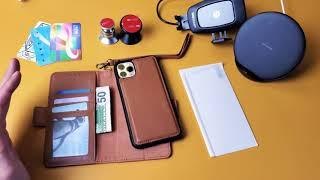 iPhone 11 Pro Max: Mefon Leather Wallet Case (Pros & Cons)