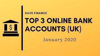 Top 3 ONLINE Bank accounts - Monzo, Starling & Revolut - OVERVIEW