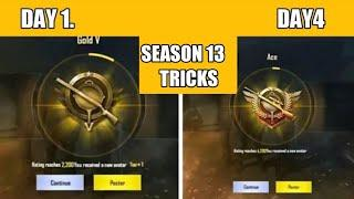 SEASON 13 TOP 10 TIPS AND TRICKS HOW TO RANK PUSH CONQUEROR SEASON 13 PUBG MOBILE !! BEST SEADON 13