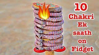 10 Diwali Chakri On a Fidget Spinner