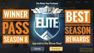 Purchasing wp(winner pass) season 8 PUBG Mobile lite one of the best season