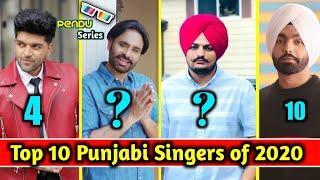 Top 10 Punjabi Singer Of All Time | Babbu maan | sidhu mossewala | Latest Punjabi Song 2020 | Pendu