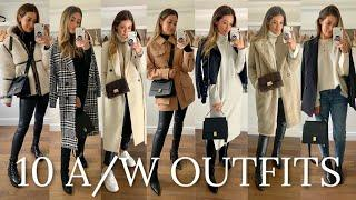 10 COSY WINTER OUTFITS - ZARA ASOS MANGO TOPSHOP H&M HAUL WEEK