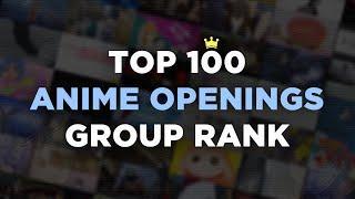 Top 100 Anime Openings [Group Rank]