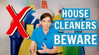 Big Mistakes Made by House Cleaners