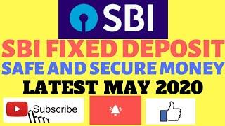 SBI FD INTEREST RATES | Latest Fixed deposit rates 2020