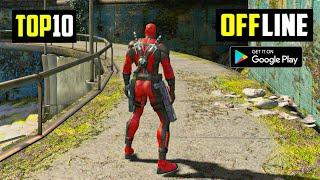 Top 10 Best OFFLINE Games for Android 2021   10 High Graphics OFFLINE Games for Android