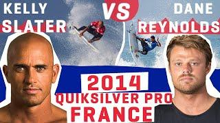 KELLY SLATER Battles It Out in the Air Against DANE REYNOLDS 2014 FRANCE FULL REPLAY | WSL REWIND