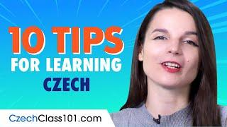 Top 10 Tips for Learning Czech