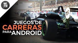 TOP 10 Mejores juegos de CARRERAS para Android