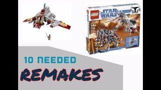 Top 10 Lego Star Wars Sets That Need Remakes
