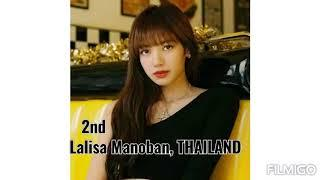"""TOP 10 """"MOST BEAUTIFUL WOMEN OF 2020"""" VOTED BY NETIZENS"""