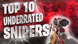 Top 10 Underrated Sniper Players In COD MOBILE!