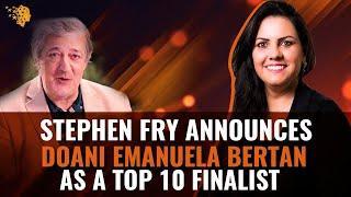 Stephen Fry Announces Doani Emanuela Bertan As A Top 10 Finalist | Global Teacher Prize 2020