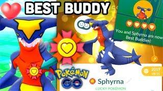 Best Buddy w/ Garchomp what HAPPENED? | Pokemon GO Best Buddy CP boost