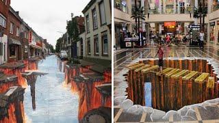 20 सबसे अद्भुत Street Arts जो आपका दिमाग घुमा देंगी | Mind Bending Street Arts