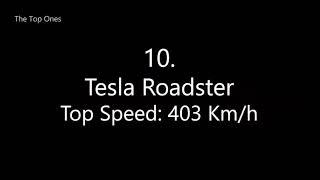 Top 10 Fastest Cars In The Word