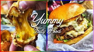 Yummy Tasty Food | Cheese Burger Recipe | Oddly Satisfying Video | Cooking Video Street Food #shorts