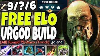 FREE ELO SEASON 10 URGOD BUILD! HOW TO PLAY & CARRY WITH THE BEST URGOT! Top LoL Urgot S10 Gameplay