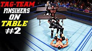WWE 2K20 Tag-Team Finishers On Table Part 2! Top 7