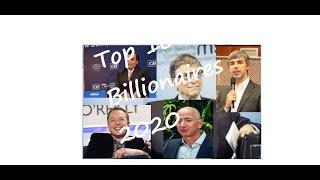 Top Billionaires 2020/The Bloomberg Billionaires Index/Top 10 Billionaires people in 2020