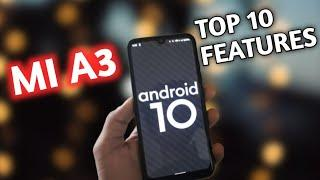 [ Xiaomi Mi A3 ] Mi a3 Android 10 Top 5 features !!!  | Mi A3 Android 10 update full review