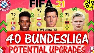 FIFA 21 | 40 BUNDESLIGA UPGRADES PREDICTIONS!! FT. LEWANDOWSKI, HALAND, DAVIES ETC(FIFA 21 UPGRADES)