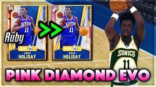 EVO PINK DIAMOND JRUE HOLIDAY GAMEPLAY!! | The BEST DEFENSIVE Point Guard In NBA 2k20 MyTEAM!