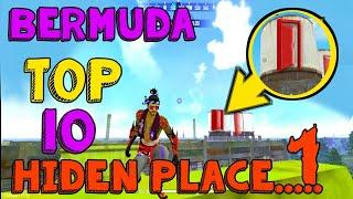 part:1, survey spot area, Bermuda map top 10  hiden place,  best hiden place bermuda, hide spot area