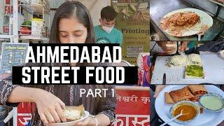 TOP AHMEDABAD STREET FOOD | PART 1 | INDIAN STREET FOOD | Fusion Dosa, Manekchowk Sandwich, Sevpuri